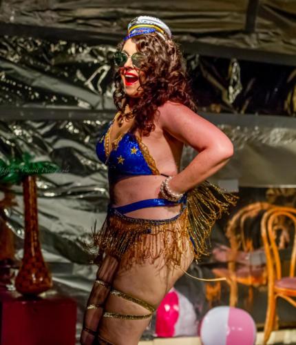Powder Room Peelers' Beach Party Burlesque Show 6-1-18-15